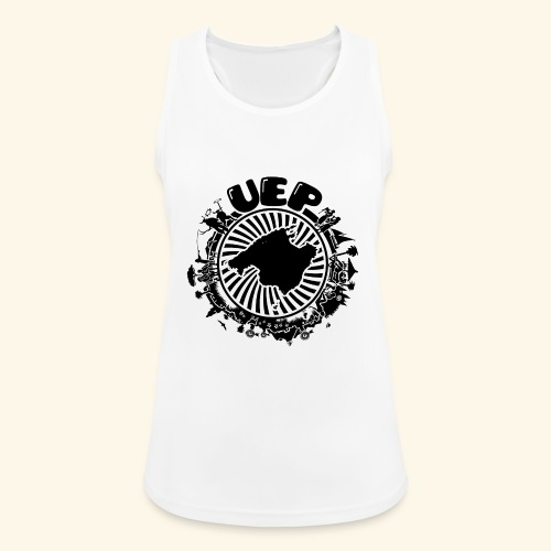 UEP white background - Women's Breathable Tank Top
