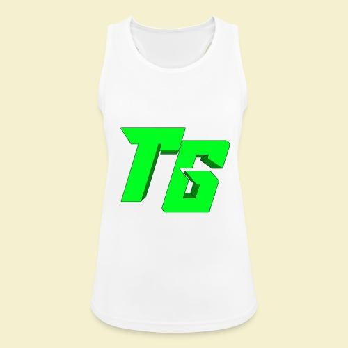 TristanGames logo merchandise [GROOT LOGO] - Vrouwen tanktop ademend actief