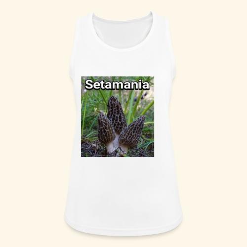 Colmenillas setamania - Camiseta de tirantes transpirable mujer