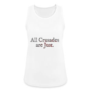 All Crusades Are Just. Alt.2 - Women's Breathable Tank Top