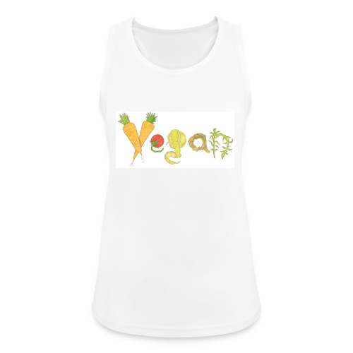 vegan - Camiseta de tirantes transpirable mujer