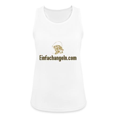 Einfachangeln Teamshirt - Frauen Tank Top atmungsaktiv