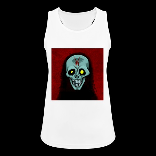 Ghost skull - Women's Breathable Tank Top