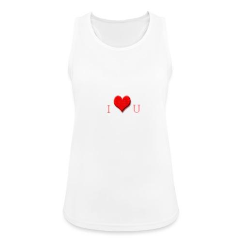 love - Vrouwen tanktop ademend actief