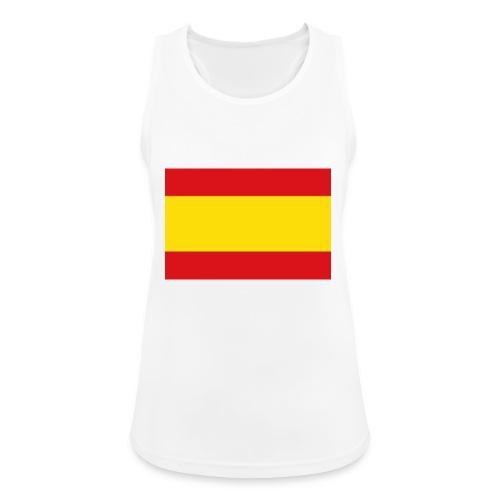 vlag van spanje - Vrouwen tanktop ademend