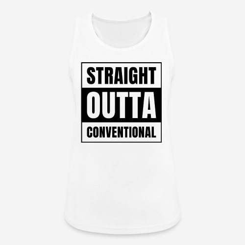 straight outta konventionell - Frauen Tank Top atmungsaktiv