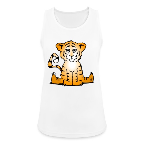 Tiger cub - Women's Breathable Tank Top