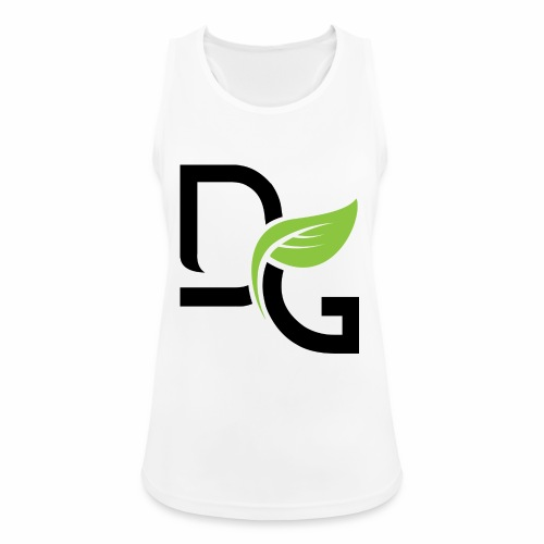 DrGreen Logo Symbol schwarz grün - Frauen Tank Top atmungsaktiv
