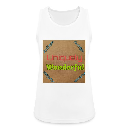 Autism statement - Women's Breathable Tank Top