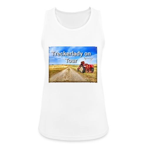Treckerlady on Tour - Frauen Tank Top atmungsaktiv