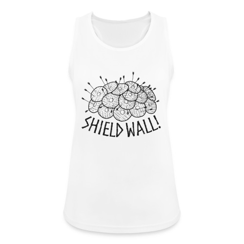 SHIELD WALL! - Women's Breathable Tank Top