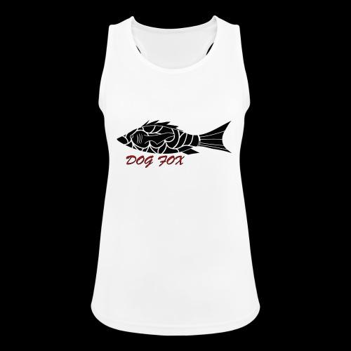 Dogfox Fisch - Frauen Tank Top atmungsaktiv