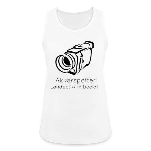 Logo akkerspotter - Vrouwen tanktop ademend actief