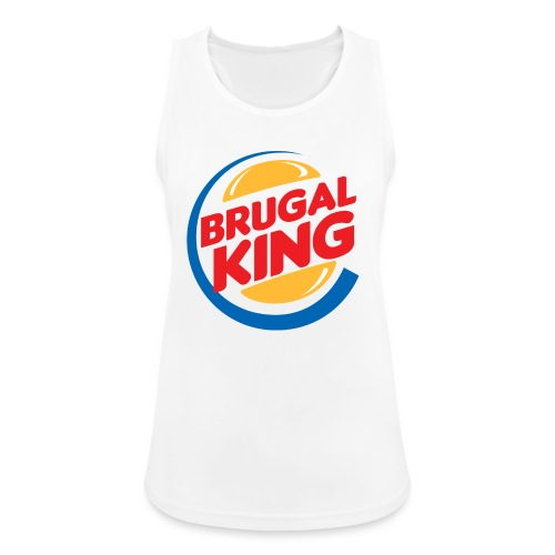 Brugal King - Camiseta de tirantes transpirable mujer