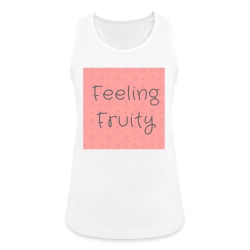 feeling fruity slogan top - Women's Breathable Tank Top