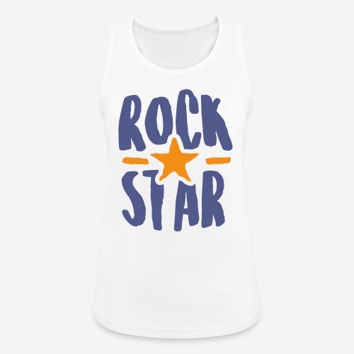 rock star - Frauen Tank Top atmungsaktiv