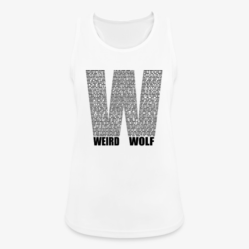 The Big W (Black) - Women's Breathable Tank Top