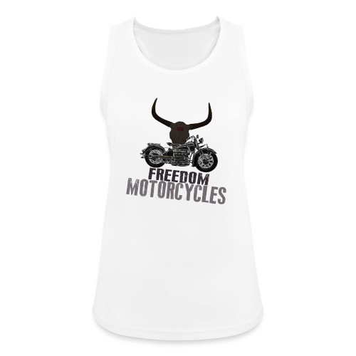 FREEDOM MOTORCYCLES - Camiseta de tirantes transpirable mujer