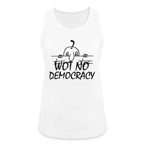 WOT NO DEMOCRACY - Women's Breathable Tank Top