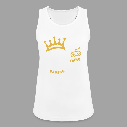 That King Thing Logo - Women's Breathable Tank Top