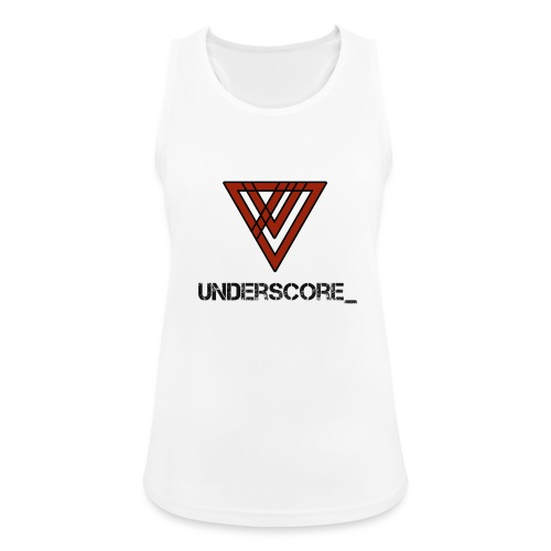 Design -Red White - Women's Breathable Tank Top