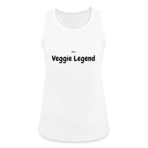 I'm a Veggie Legend - Women's Breathable Tank Top