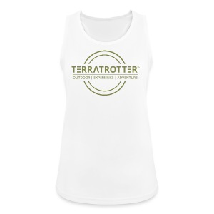 Terratrotter® | Green - Women's Breathable Tank Top