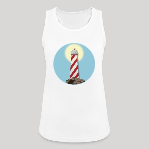 Lighthouse day - Top da donna traspirante