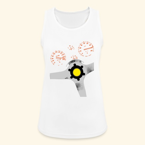 analog supercar - Women's Breathable Tank Top