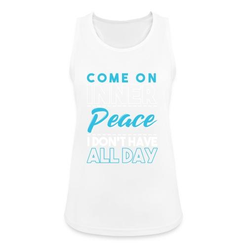 Inner Peace Meditation Funny Yoga Lover Gift - Frauen Tank Top atmungsaktiv
