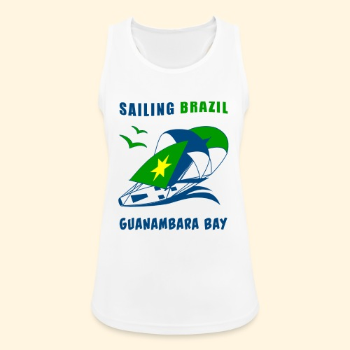 Sailing Brazil - Women's Breathable Tank Top