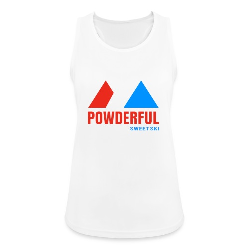 Powderful Sweet Ski - Frauen Tank Top atmungsaktiv