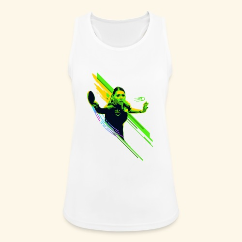 Eyes on the ball and focus playing the game - Frauen Tank Top atmungsaktiv