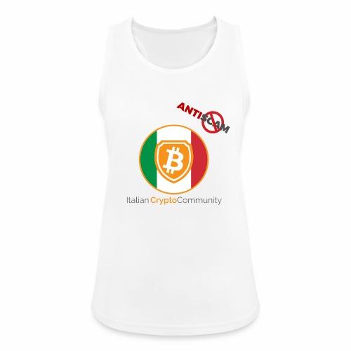 Italian CryptoCommunity - Top da donna traspirante