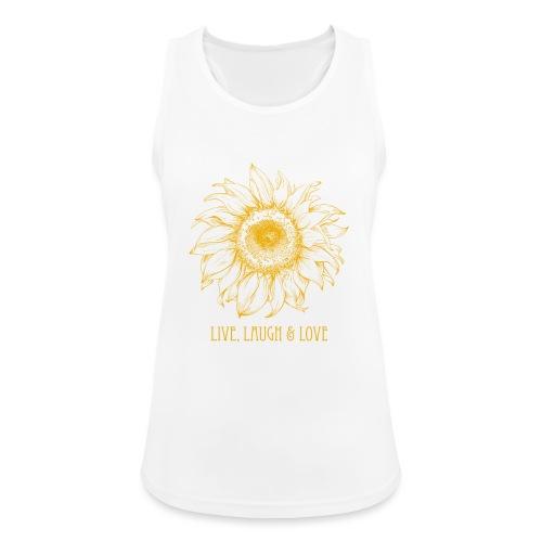 Sonnenblume Zeichnung - Frauen Tank Top atmungsaktiv