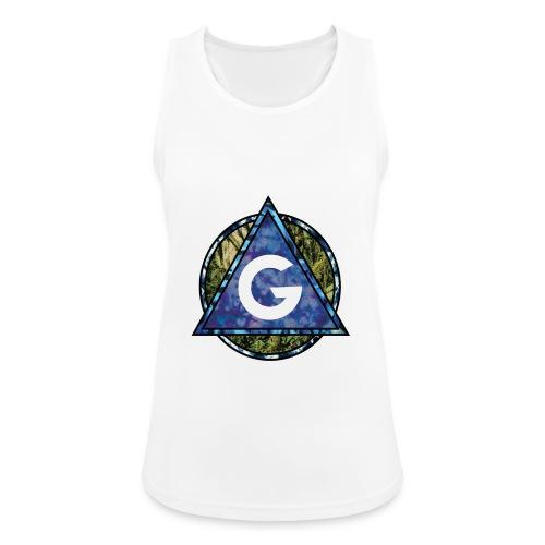 Grime Apparel Geo Print. - Women's Breathable Tank Top