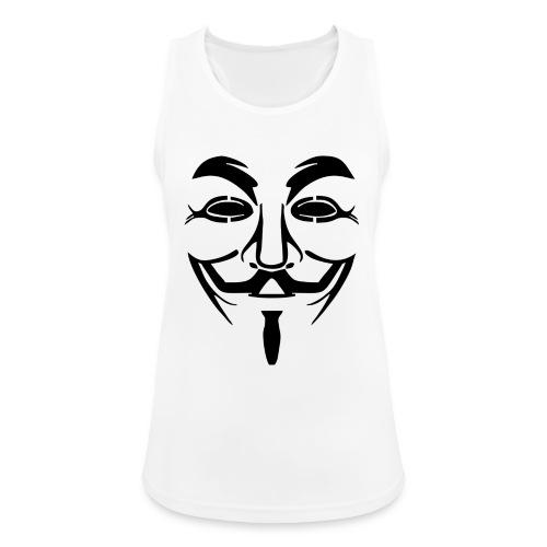 anonym vendetta - Frauen Tank Top atmungsaktiv