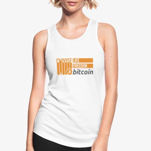 Bitcoin - Débardeur respirant Femme