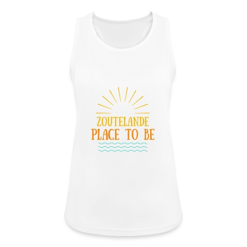Zoutelande - Place To Be - Frauen Tank Top atmungsaktiv