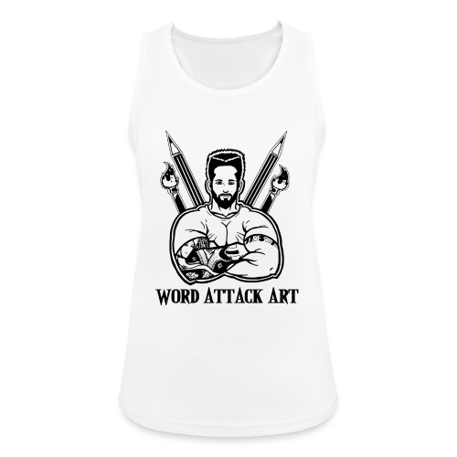Word Attack Art - Frauen Tank Top atmungsaktiv