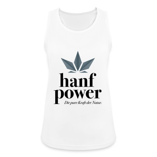 Hanf Power Logo - Frauen Tank Top atmungsaktiv