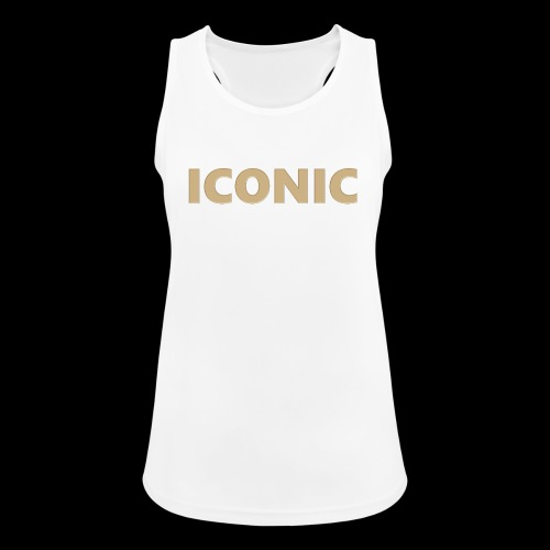 ICONIC [Cyber Glam Collection] - Women's Breathable Tank Top