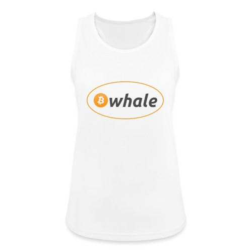 Bitcoin Whale - Women's Breathable Tank Top