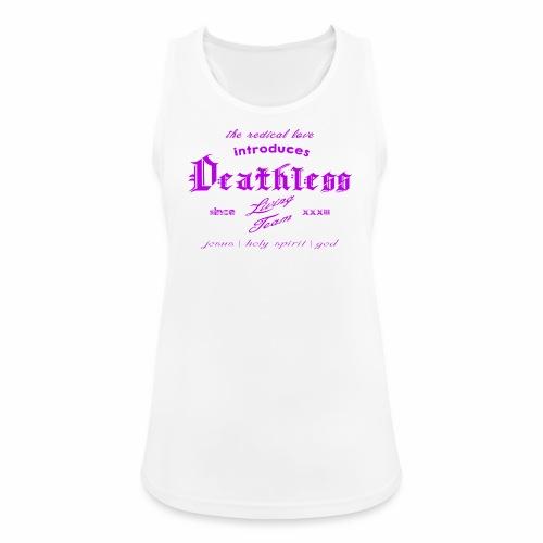 deathless living team violet - Frauen Tank Top atmungsaktiv
