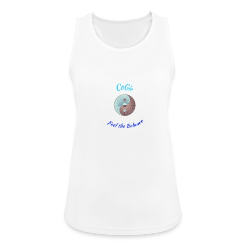 CoGie, Feel the Balance - Women's Breathable Tank Top
