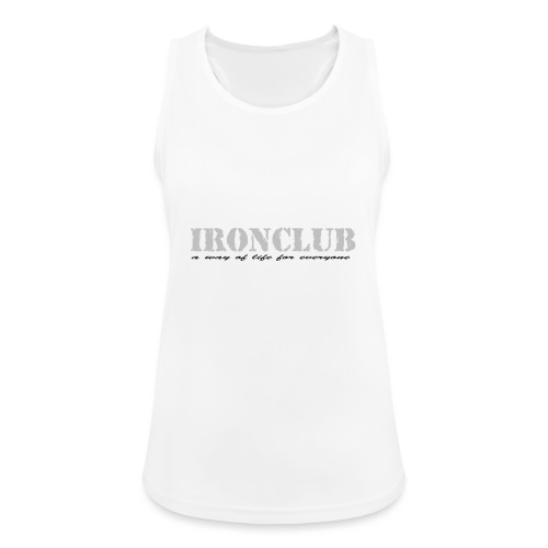IRONCLUB - a way of life for everyone - Pustende singlet for kvinner
