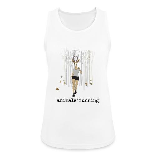 Antilope running - Débardeur respirant Femme