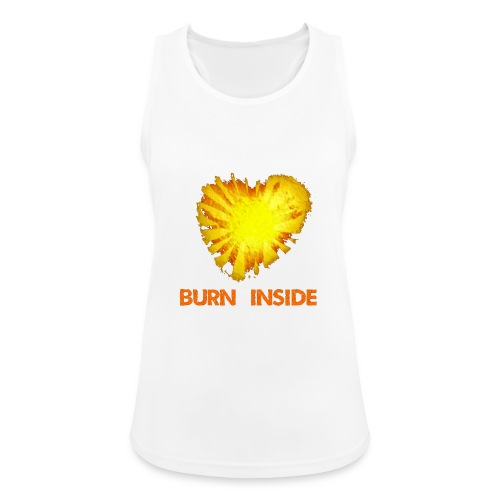 Burn inside - Top da donna traspirante