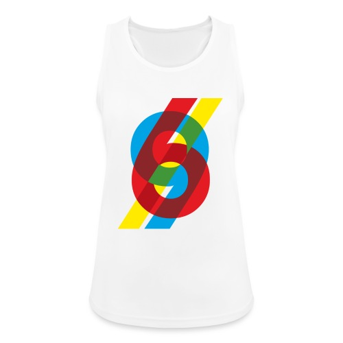 colorful numbers - Women's Breathable Tank Top