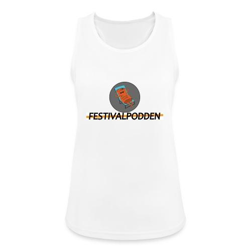 Festivalpodden - Loggorna - Andningsaktiv tanktopp dam